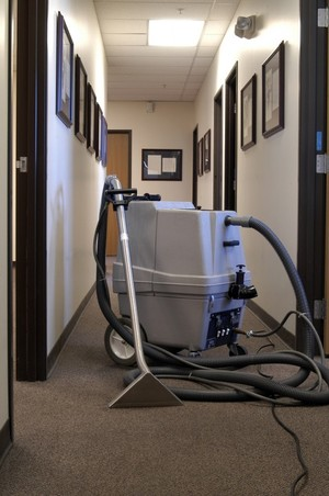 Commercial Carpet Cleaning by C & W Janitorial Company Inc