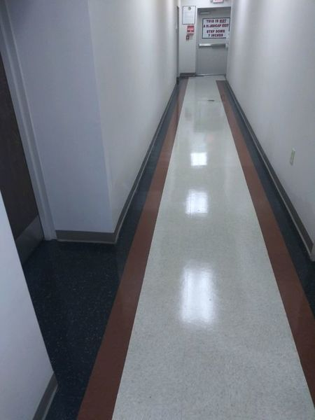 Floor Cleaning of 10,500 sq ft College in Mullins, SC (1)