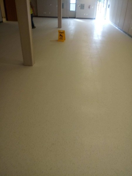 Before & After Floor Strip & Wax in Fort Jackson, SC (9)